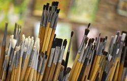 画家绘画 免版税库存图片