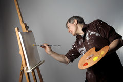 画家 免版税图库摄影