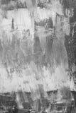 画布上色灰色被绘 免版税库存图片