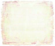 画布桃红色水彩 免版税库存照片