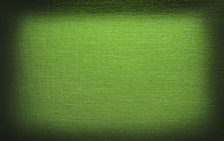 画布绿灯纹理 图库摄影