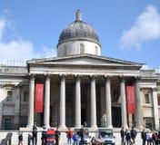 画廊伦敦国民 库存照片