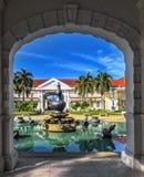 画廊苏丹阿兹兰Shah在瓜拉江沙县,马来西亚 库存照片
