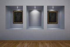 画廊 免版税库存照片