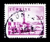 画报、产业和技术serie,大约1959年 免版税库存图片
