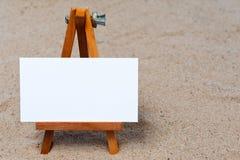 画架沙子 免版税库存照片