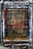 画架被绘的冲程 免版税库存图片