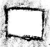 画笔框架飞溅声冲程 库存例证