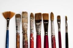 画笔画家 免版税库存照片