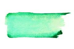 画笔绿色冲程 免版税库存图片