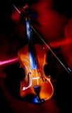画笔轻的小提琴 库存图片