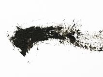 画笔高放大冲程纹理 免版税库存照片