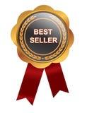 畅销书奖牌 向量例证