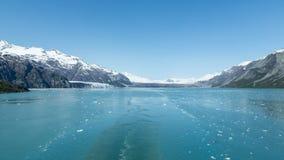 留下冰河海湾 免版税图库摄影
