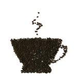 留下茶 免版税库存图片