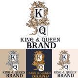 略写法或组合图案精品店、品牌、菜单、标签或者徽章的t 库存例证