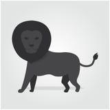 略写法狮子 库存照片