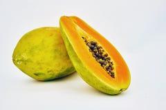 番木瓜甜点 免版税库存照片