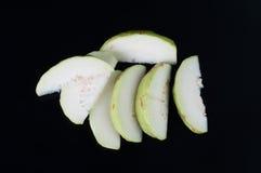 番石榴果子有绿色皮肤维生素C。 免版税库存照片