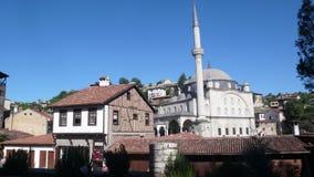 番红花城土耳其,老土耳其房子 库存图片