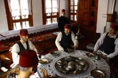 番红花城在土耳其 免版税库存照片