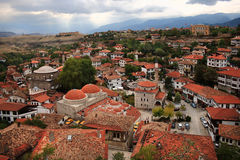 番红花城,土耳其 图库摄影