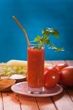 番茄汁 免版税库存图片