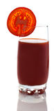 番茄汁 库存照片