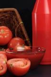 番茄酱蕃茄 免版税库存图片