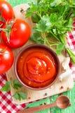 番茄酱 库存图片