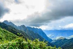 番西邦峰山 库存图片