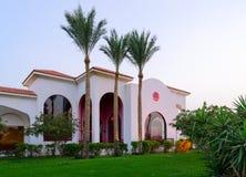 疆土旅馆西瓦Sharm前Savita手段5 *在鲨鱼咆哮, Sharm El谢赫,埃及 中国餐馆 图库摄影