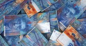疏散钞票堆 免版税图库摄影