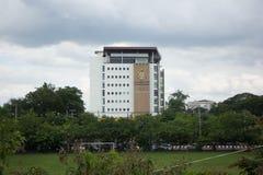 医疗优秀大厦中心 免版税库存图片