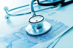 医疗保健产业在英国 库存照片