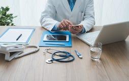 医疗保健和技术 免版税库存照片