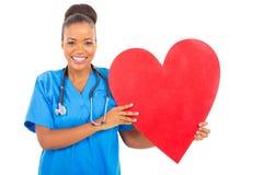医疗保健工作者心脏 免版税库存图片