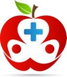 医疗保健苹果 库存图片