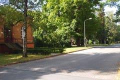 疗养院德国 库存照片