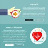 医疗和健康保险 库存图片