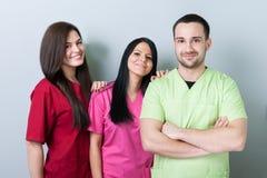 医疗或牙齿队 库存照片