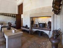 医疗所厨房。Mafra国民宫殿 库存照片