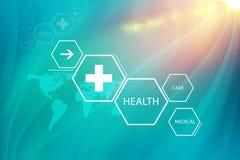 医疗抽象背景概念系列08 免版税图库摄影