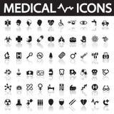 医疗的图标 库存照片