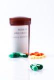 治疗的药物 库存图片
