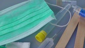 医疗的,医疗保健注射器 影视素材