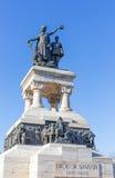医疗英雄纪念碑,布加勒斯特,罗马尼亚 图库摄影