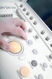 医疗设备的控制台 图库摄影