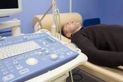 医疗超声波诊断机器 库存照片