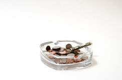 医疗:概念性被放弃的抽烟 库存照片